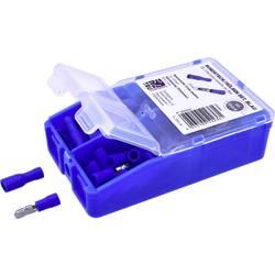 Krimpovací sada 1.50 mm² 2 mm² modrá TRU COMPONENTS TC-6646644 60 ks