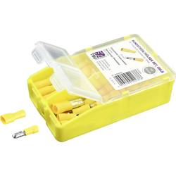 Krimpovací sada 4 mm² 6 mm² žlutá TRU COMPONENTS TC-6646648 60 ks