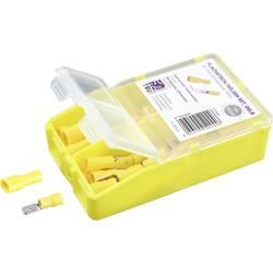 Krimpovací sada 4 mm² 6 mm² žlutá TRU COMPONENTS TC-6646676 100 ks