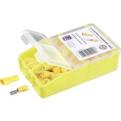 Krimpovací sada 4 mm² 6 mm² žlutá TRU COMPONENTS TC-6646680 100 ks
