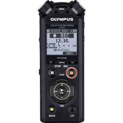 Přenosný audio rekordér Olympus LS-P4, černá