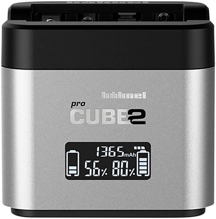 Nabíječka pro kamery Pro Cube 2, Canon Hähnel 10005700 Vhodný akumulátor Li-Ion, NiMH