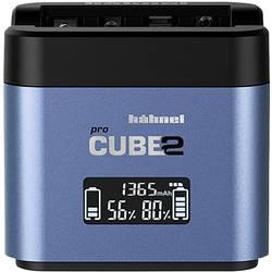 Nabíječka pro kamery Pro Cube 2, Fuji, Panasonic Hähnel 10005730 Vhodný akumulátor Li-Ion, NiMH