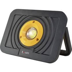 Akumulátorové LED pracovní osvětlení X4-LIFE 701606, 10 W, černá, oranžová