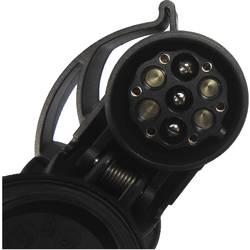 Adaptér pro zapojení přívěsu SecoRüt 50110 west, [13 pólová zásuvka - zástrčka Multicon, systém WeSt, 7 pólová zástrčka], plast