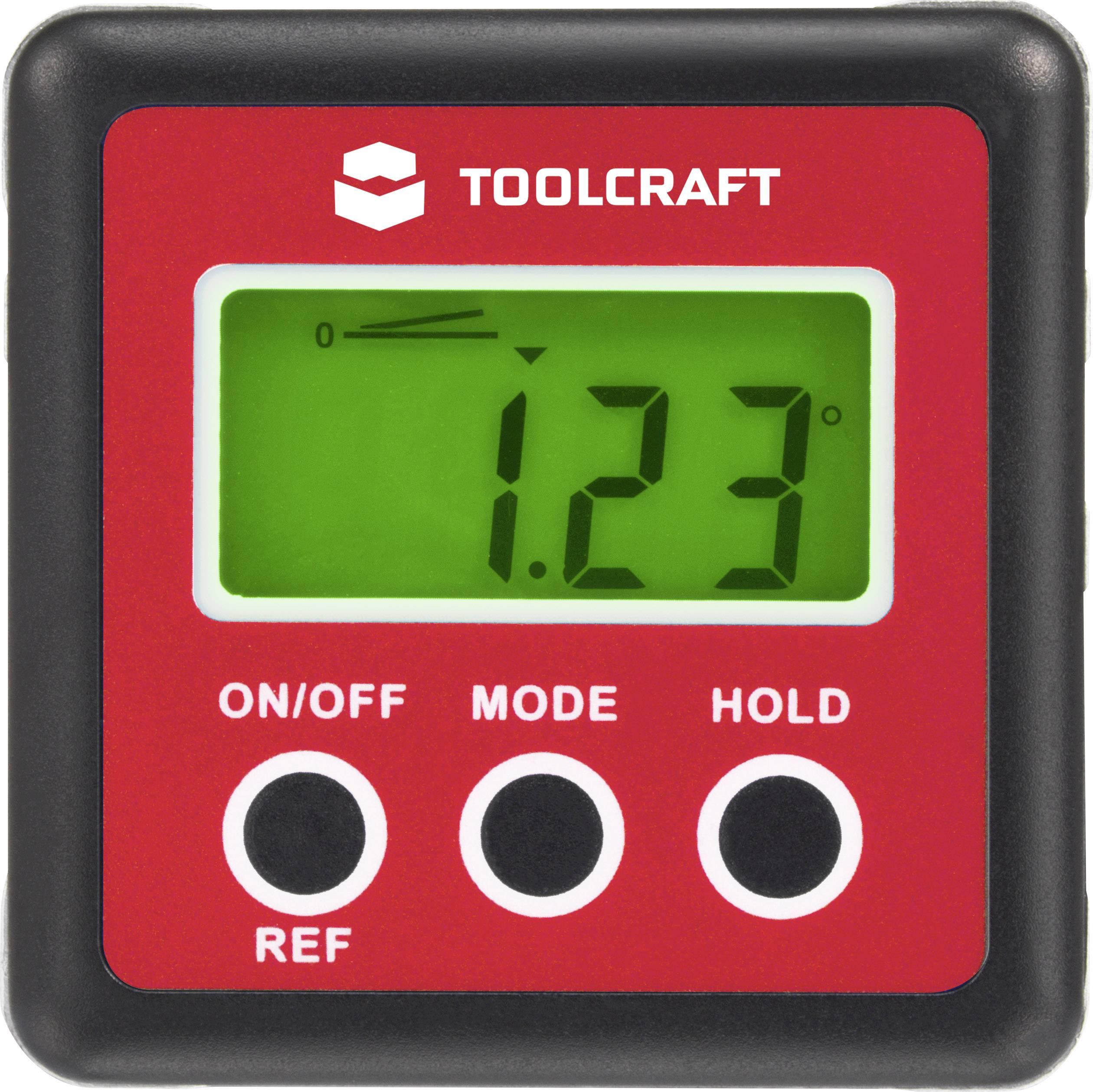 Digitálna vodováha TOOLCRAFT TO-4988565, 82 mm