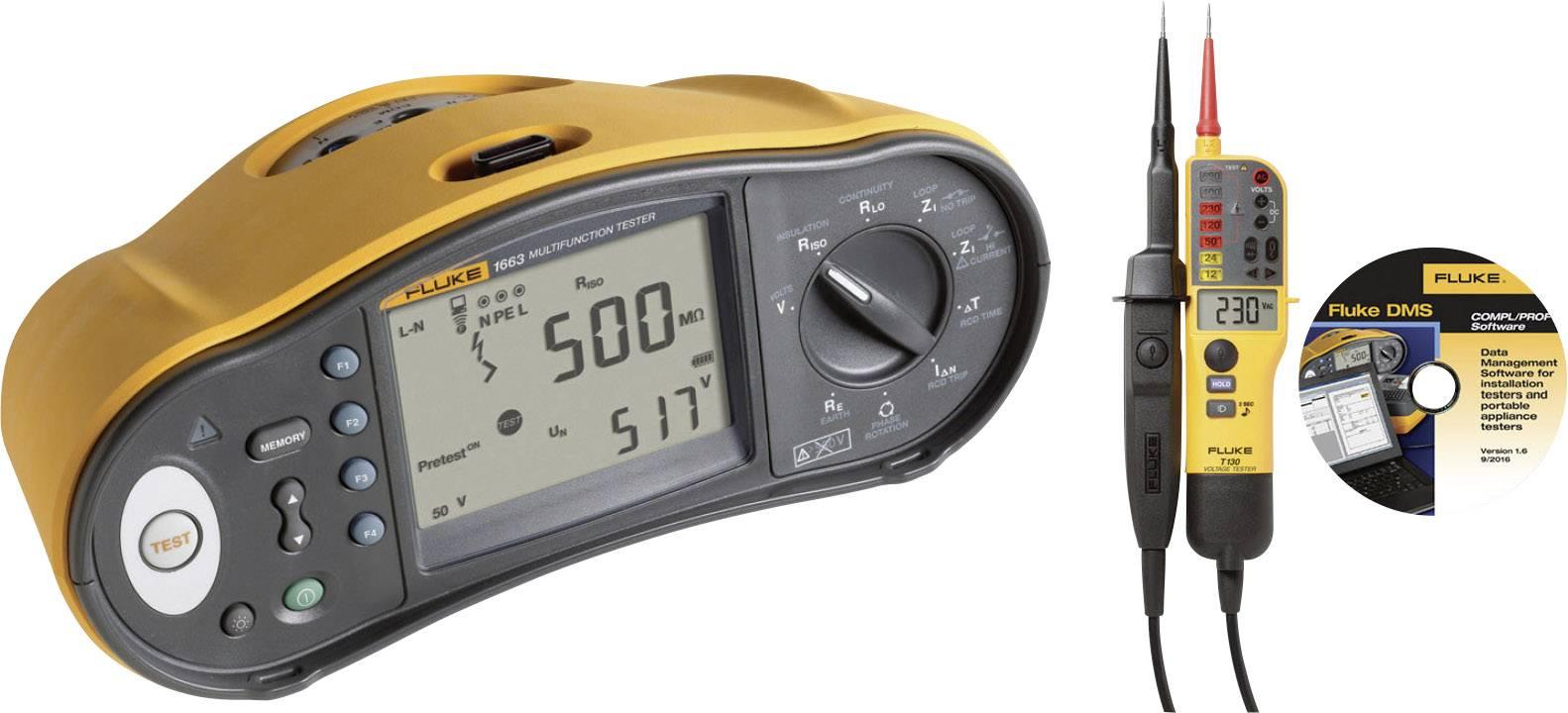 Revizní přístroje Fluke 1663 SCH-TPL KIT/D