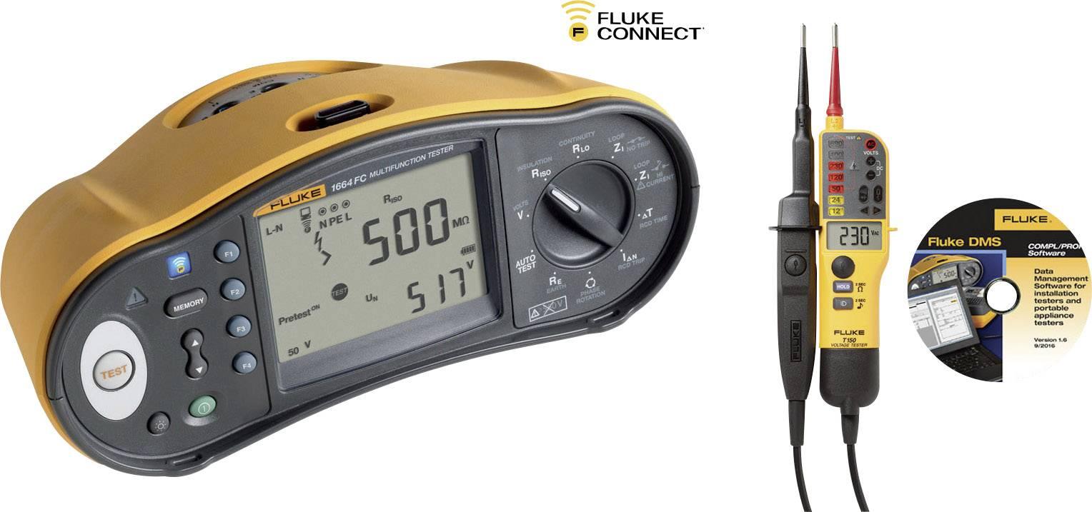 Revizní přístroje Fluke 1664 SCH-TPL KIT/D