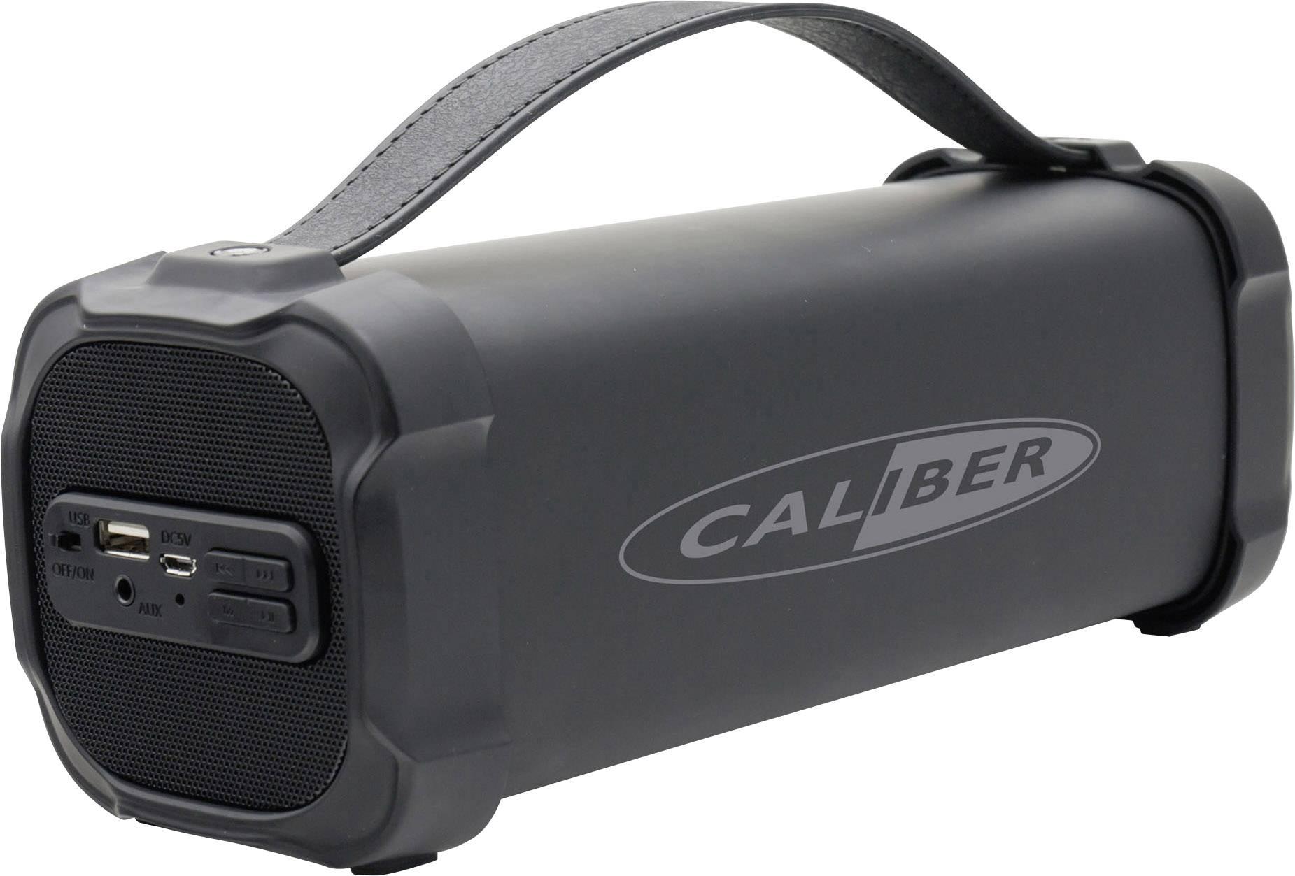 Bluetooth® reproduktor Caliber Audio Technology HPG325BT AUX, FM rádio, SD, USB, čierna