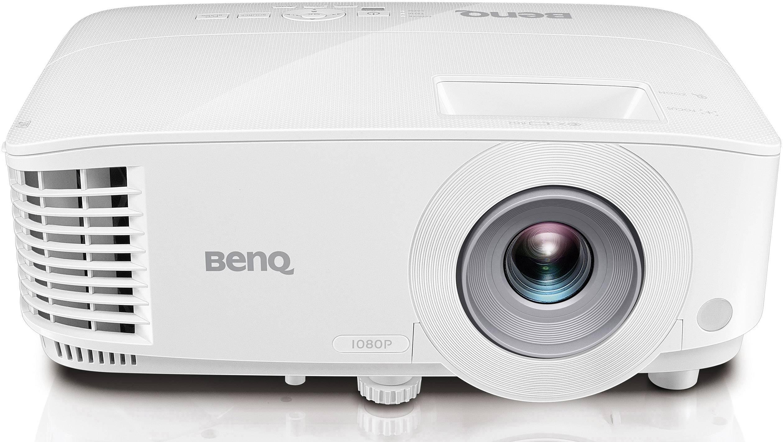 DLP Beamer BenQ MH733 Světelnost (ANSI Lumen): 4000 lm 1920 x 1080 HDTV 16000 : 1 bílá