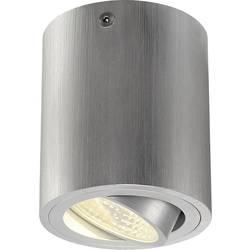 LED osvetlenie na stenu / strop SLV Triledo Round CL 113936, 6 W, teplá biela, hliník (kartáčovaný)