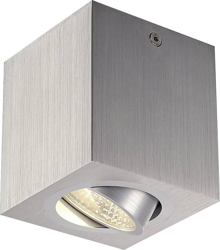 LED osvětlení na stěnu/strop SLV Triledo Square CL 113946, 6 W, 8.5 cm, teplá bílá, hliník (kartáčovaný)
