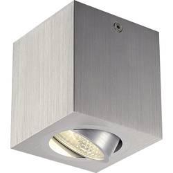 LED osvetlenie na stenu / strop SLV Triledo Square CL 113946, 6 W, 8.5 cm, teplá biela, hliník (kartáčovaný)