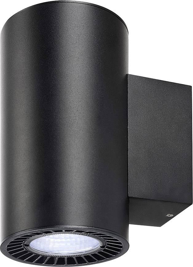 LED nástěnné světlo SLV Supros 114190, 30.4 W, neutrálně bílá, černá