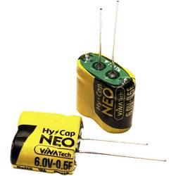 Superkondenzátor (Super Cap) VINATech WEC6R0255QGI, 2.5 F, 6 V, (Ø x v) 10.5 mm x 21 mm, 1 ks