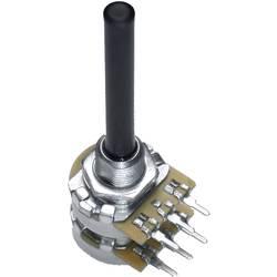 Otočný potenciometr Stereo OMEG 9919 9919, 0.2 W, 22 kOhm, 1 ks