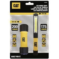 LED pracovní svítidlo, mini kapesní svítilna CAT CT2PEU CT2PEU, 150 lm, 100 g, na baterii, žlutá, černá