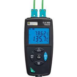 Teploměr Chauvin Arnoux CA1822 P01654822, -200 až 1372 °C, typ senzoru J , K, T , N , E , R , S , Kalibrováno dle: bez certifikátu