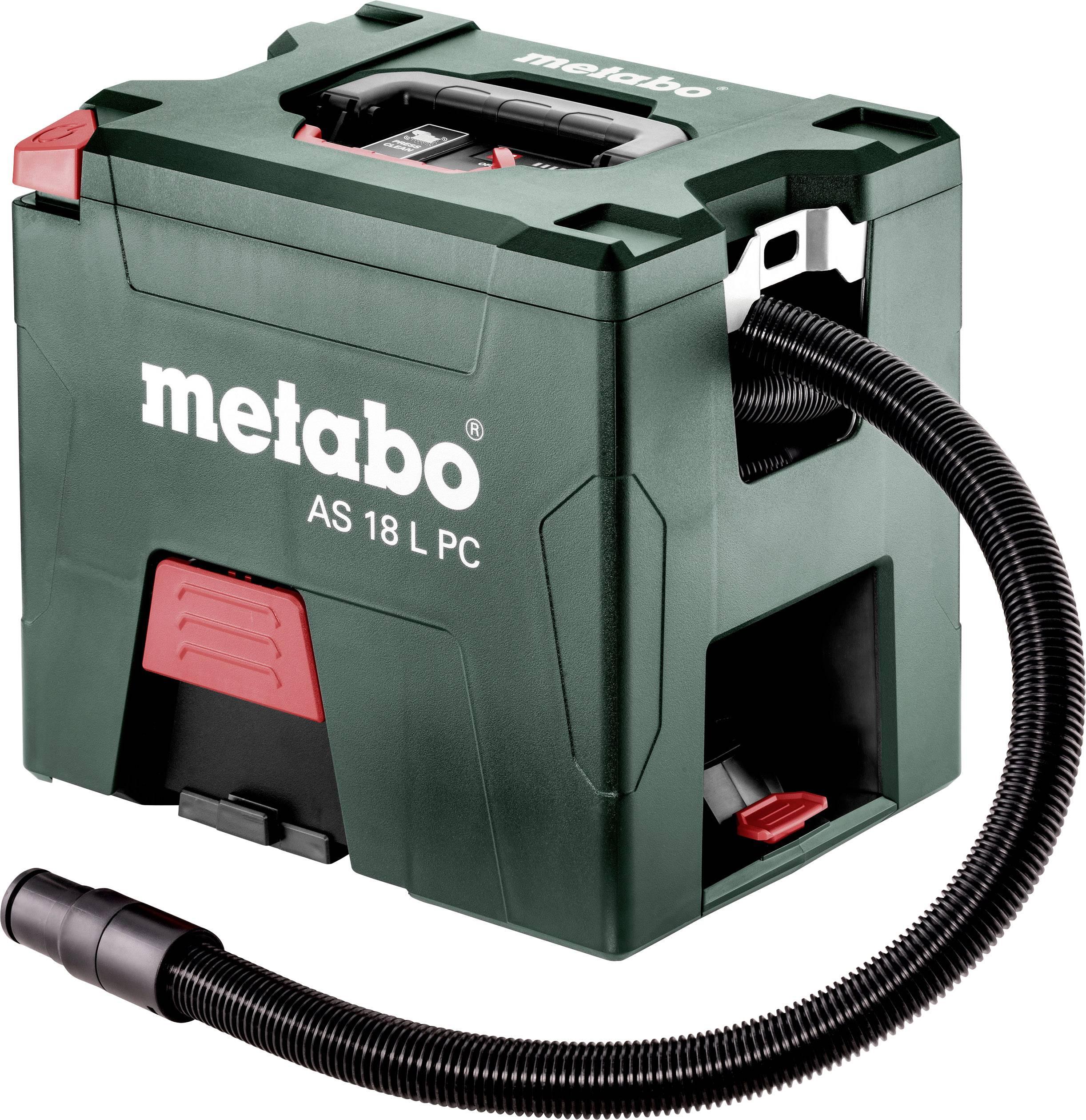 Suchý vysavač Metabo AS 18 L PC 602021000, 7.50 l