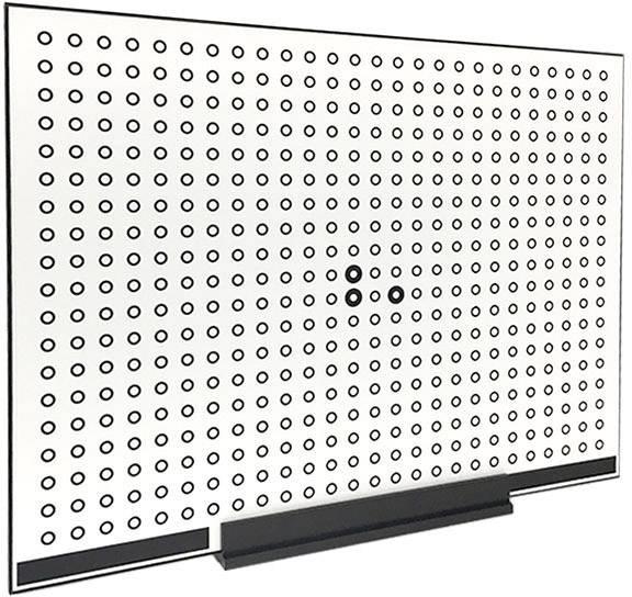 Kalibrační panel pro 3D skener SCAN in a BOX MASTER_SIABFX400