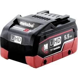 Náhradní akumulátor pro elektrické nářadí, Metabo 625368000, 18 V, 5.5 Ah, LiHD