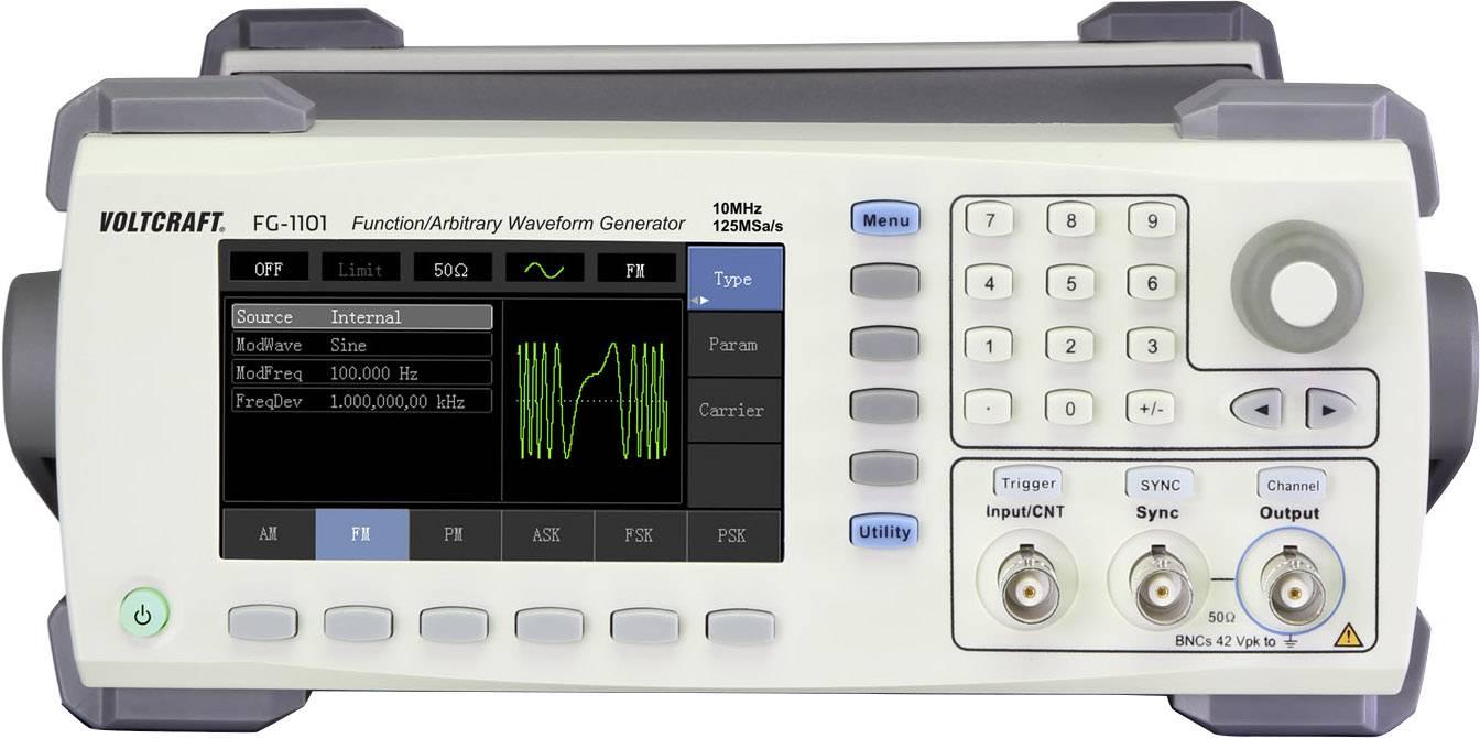 Arbitrátní generátor funkcí VOLTCRAFT FG-1101 1kanálový bez certifikátu