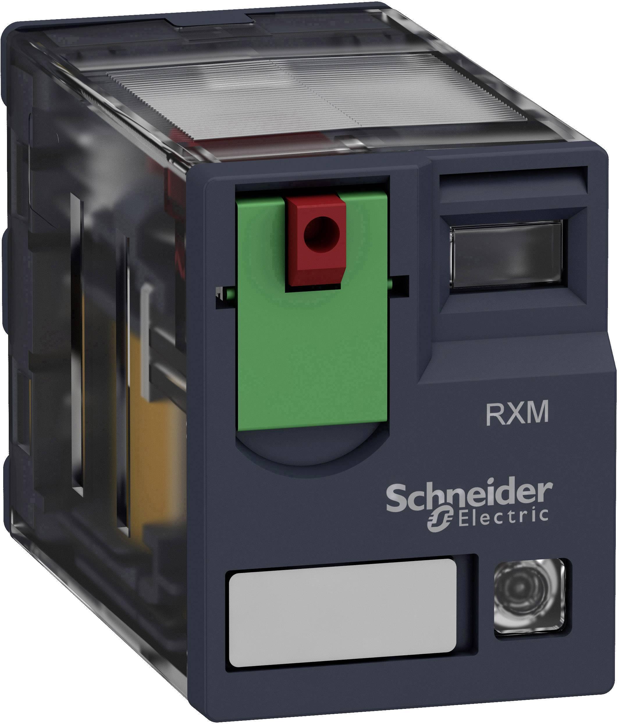 Zátěžové relé Schneider Electric RXM4AB2B7, 24 V/AC, 6 A, 4 rozpínací kontakty, 4 spínací kontakty, 1 ks