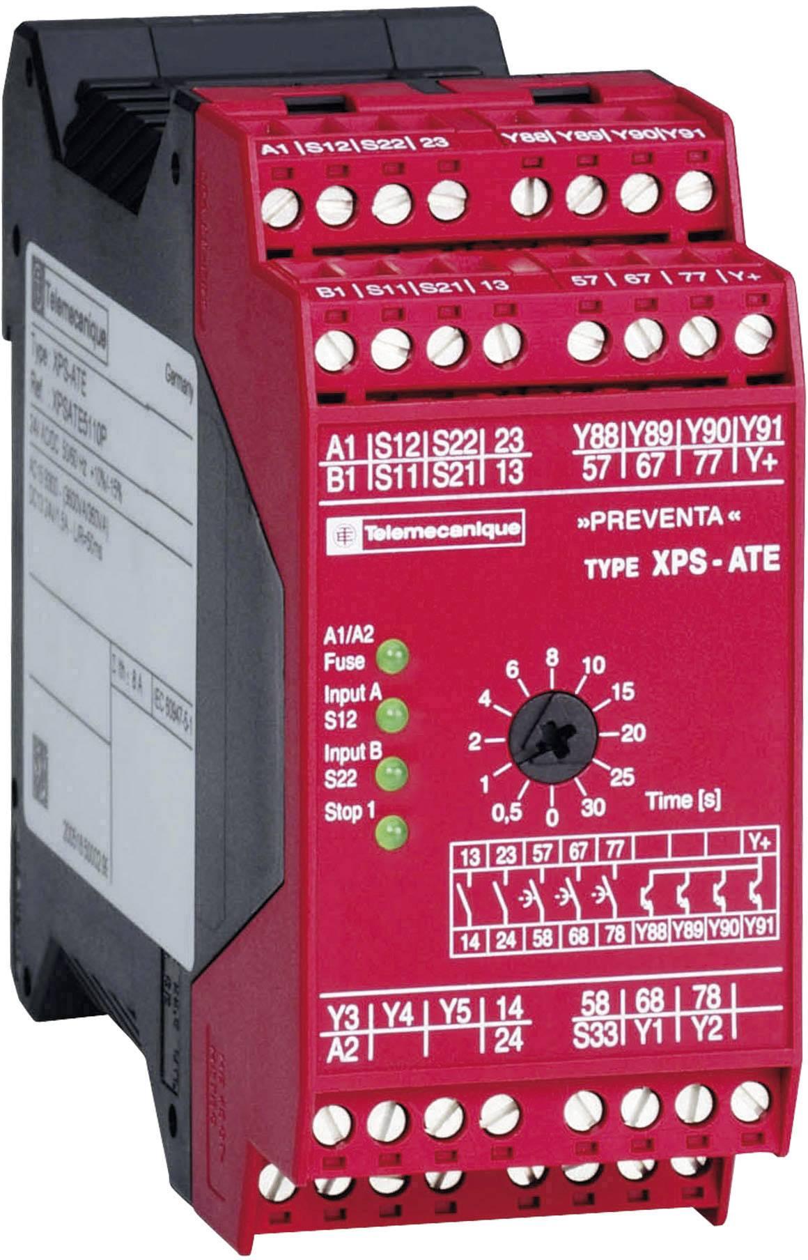 Ochranné relé Schneider Electric XPSATE5110, XPSATE5110, 24 V/DC, 24 V/AC, 5 spínacích kontaktů