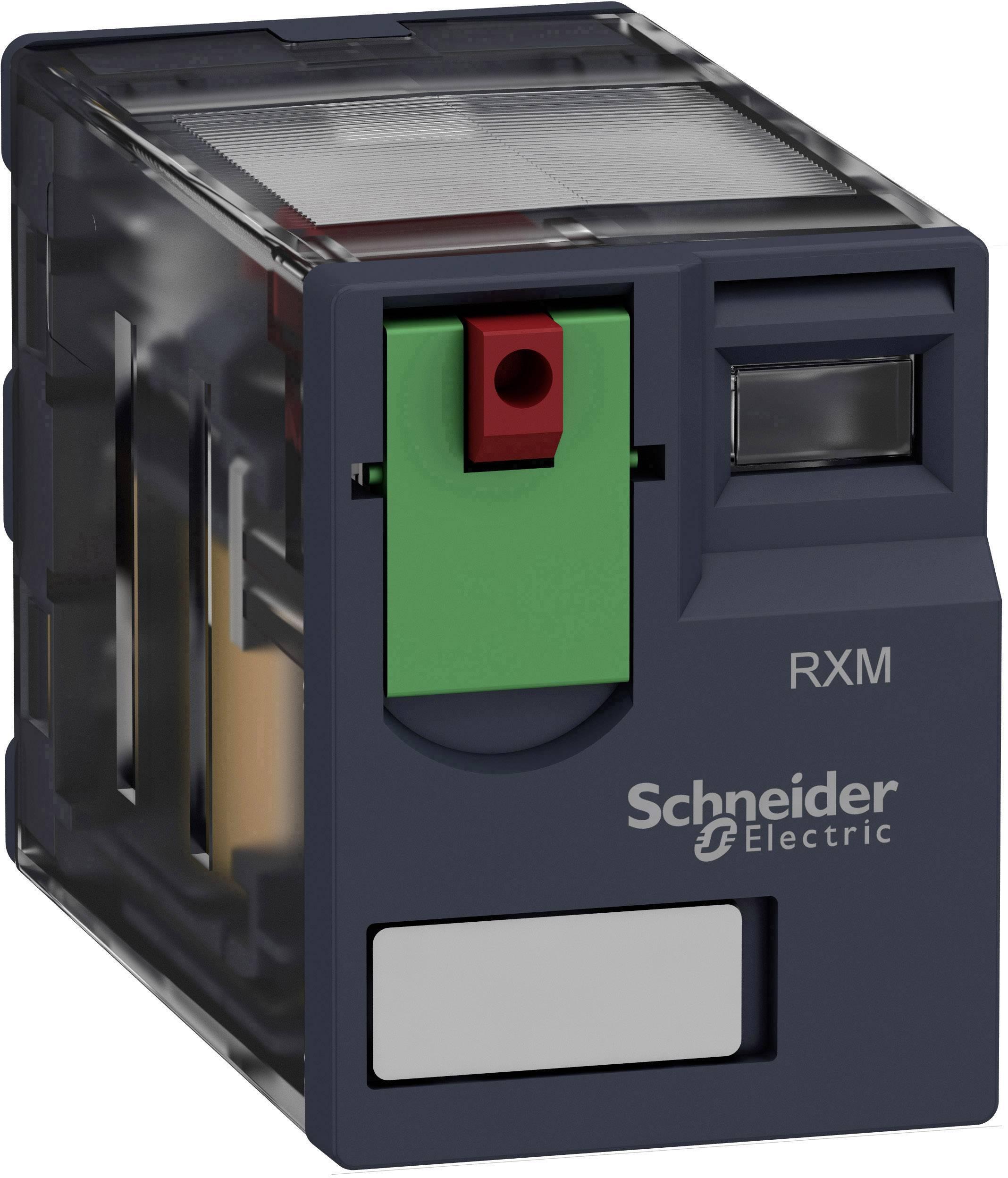 Zátěžové relé Schneider Electric RXM4AB1B7, 24 V/AC, 6 A, 4 rozpínací kontakty, 4 spínací kontakty, 1 ks