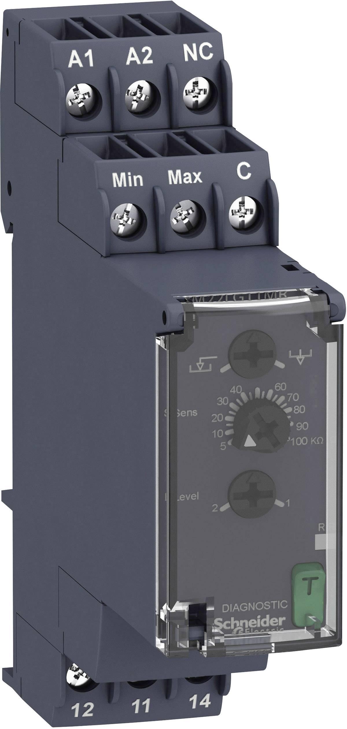 Relé na hlídání hladiny série RM22 Schneider Electric