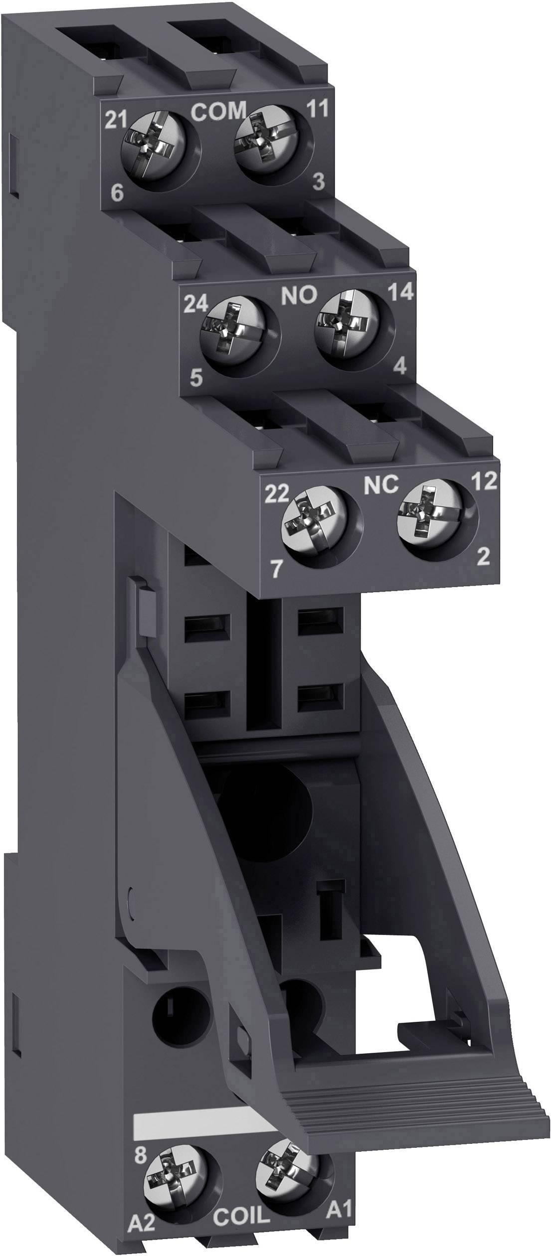 Sokl pro relé Schneider Electric RGZE1S48M (d x š x v) 77 x 15.8 x 62 mm 1 ks