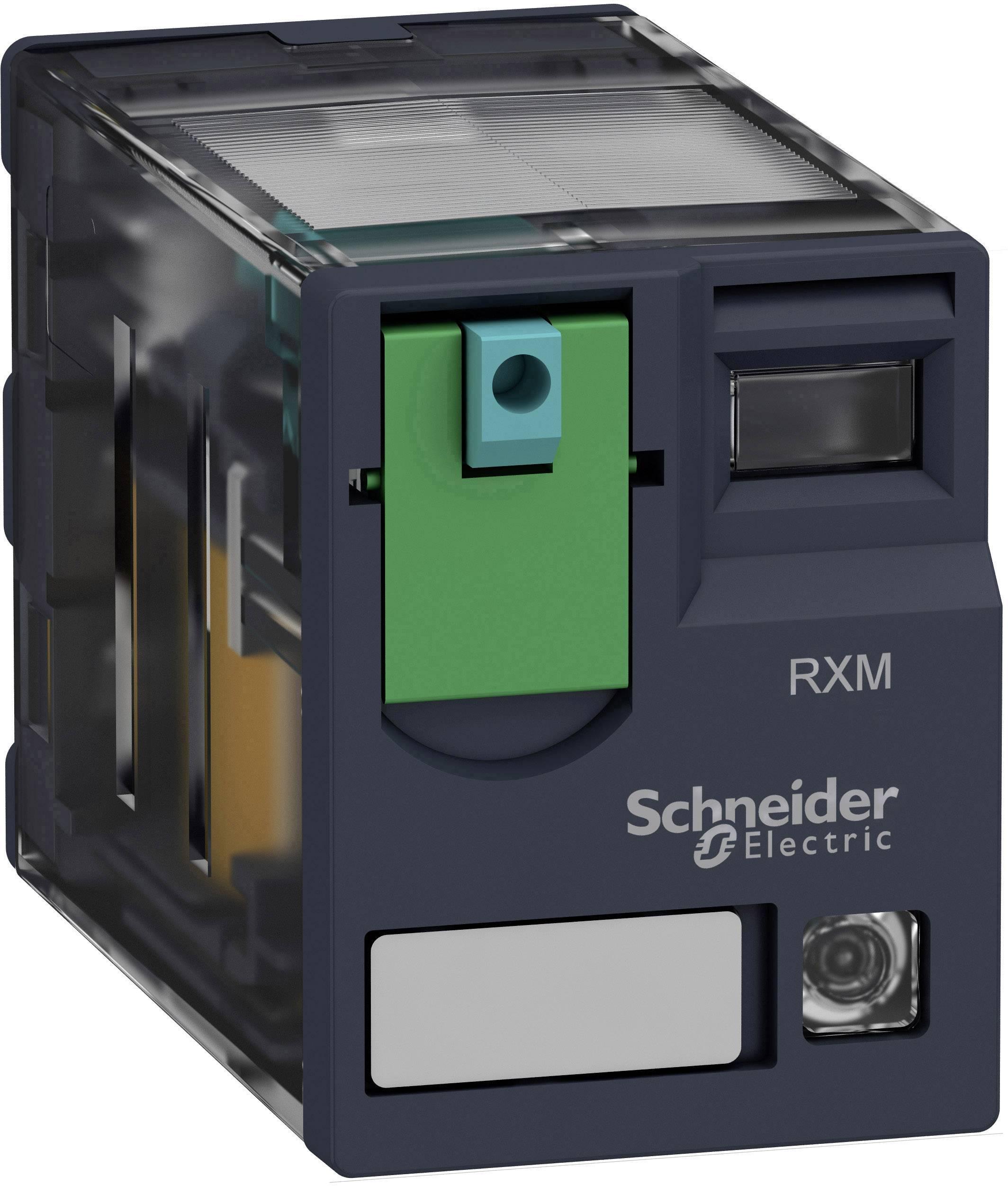 Zátěžové relé Schneider Electric RXM2AB2BD, 24 V/DC, 12 A, 2 rozpínací kontakty, 2 spínací kontakty, 1 ks