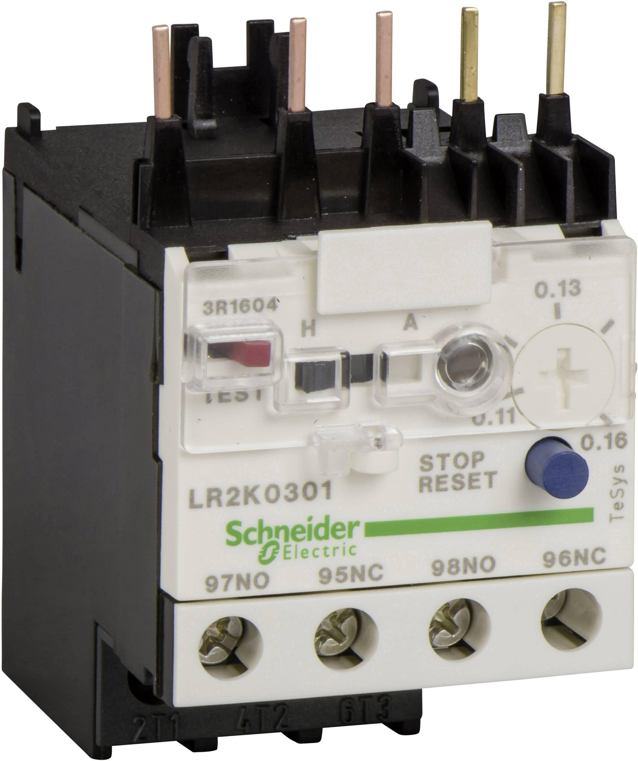 Ochranné relé motoru Schneider Electric LR2K0307 LR2K0307, 1 ks