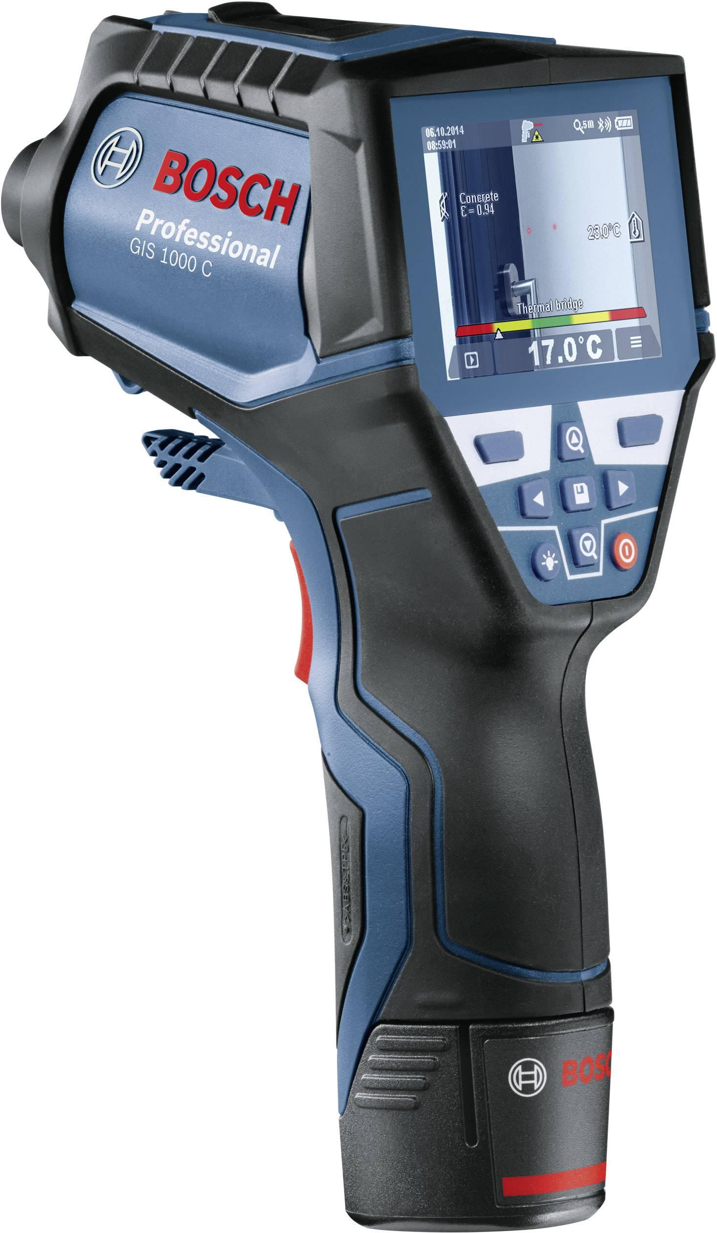 Infračervený teplomer Bosch Professional GIS 1000 C, Optika 50:1, -40 do 1000 °C