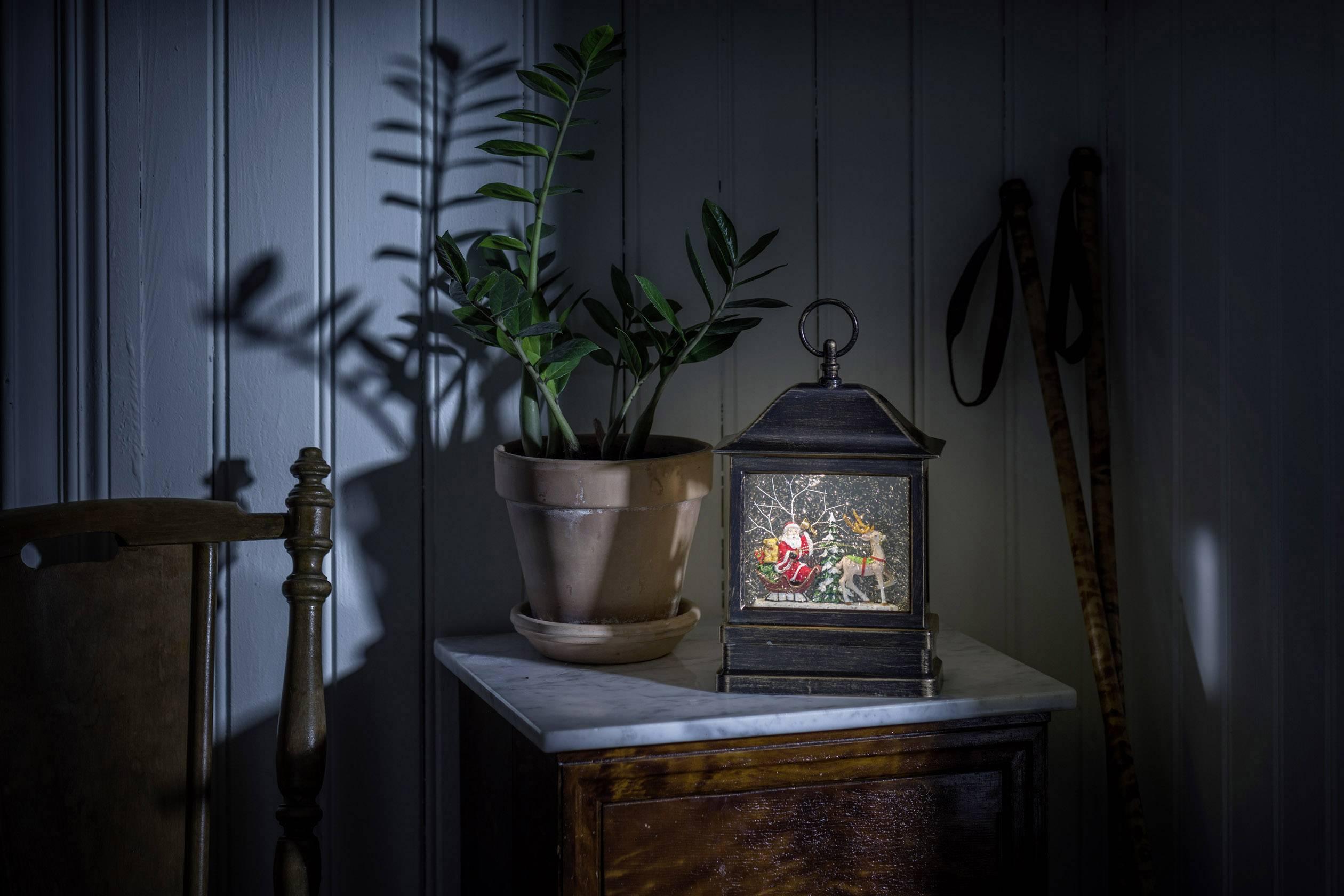 LED lucerna Santa Claus, sáně Konstsmide 4351-000 4351-000