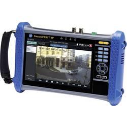 Tester digitálních/IP, HD koaxiálních a analogových kamerových systémů CCTV instalační tester pro CCTV kamerové systémy IDEAL Networks SecuriTEST IP R171000
