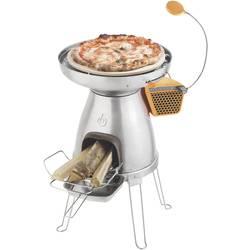 Kempingový varič BioLite PizzaDome 006-6001123, ušľachtilá oceľ, keramika, silikón