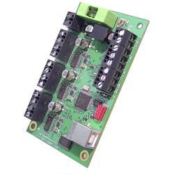 Emis Řídicí karta krokového motoru SMC1000i-USB Provozní napětí (text) 12 až 24 V DC Fázový proud (max.) 1 A Počet nastavitelných os 3 Rozhraní USB