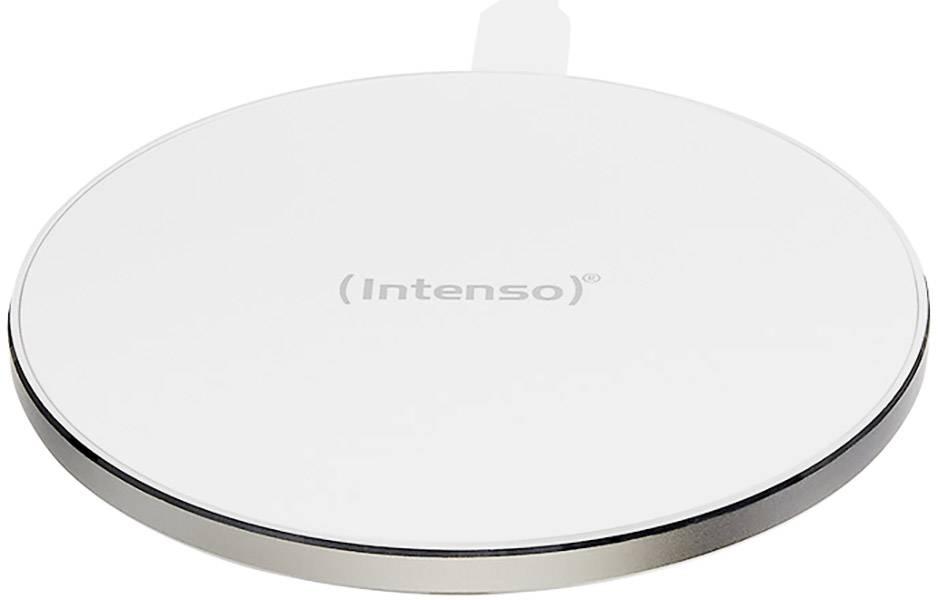 Bezdrátová indukční nabíječka Intenso 7410512, Qi standard, bílá