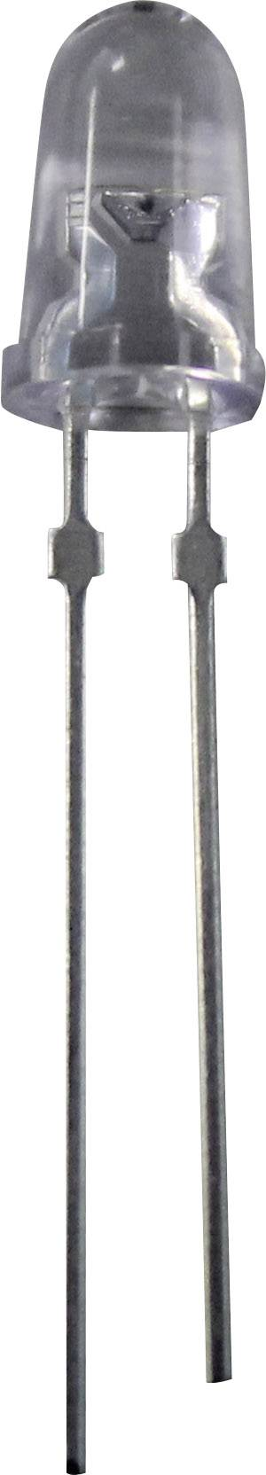 LEDsvývodmi Nichia NSPG520AS Sel. gT/U/V, NSPG520AS, typ šošovky guľatý, 5 mm, zelená