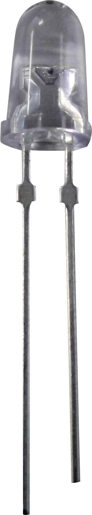 LED dioda kulatá s vývody Nichia, 20 mA, 5 mm, 3,2 V, 15 °, 37700 mcd, zelená, NSPG500S