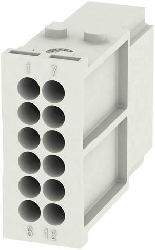 RockStar® Modu Plug Weidmüller HDC MHD 12 MC, 1 ks