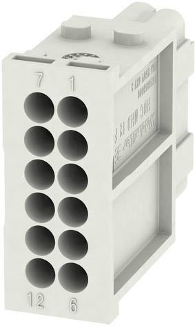 RockStar® Modu Plug Weidmüller HDC MHD 12 FC, 1 ks