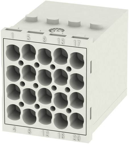 RockStar® Modu Plug Weidmüller HDC MHE 20 MC, 1 ks