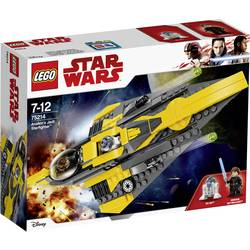 LEGO® STAR WARS™ 75214 Používá Anakin's Jedi star fighter™