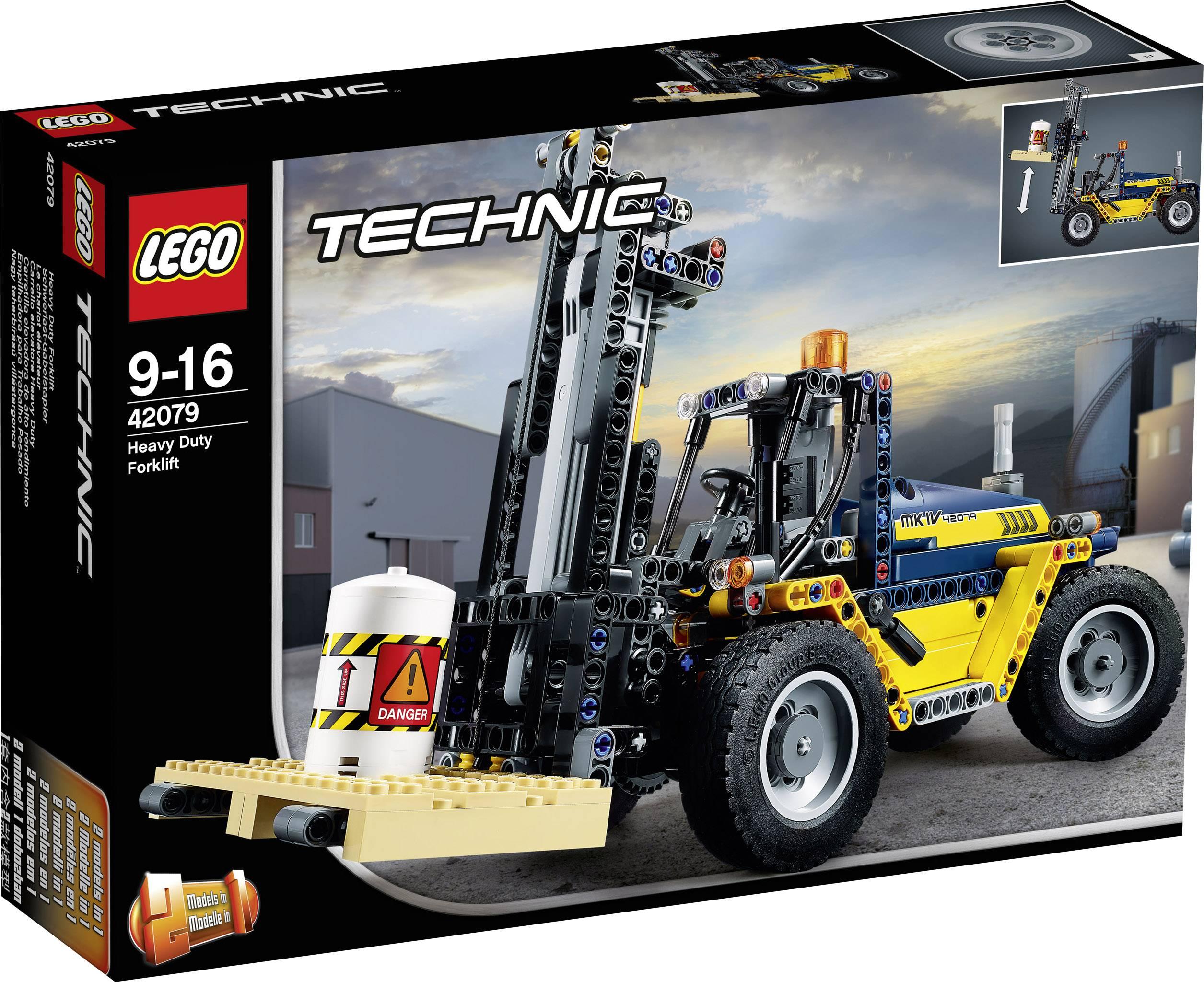 LEGO® TECHNIC 42079 Regál vysokozdvižné vozíky