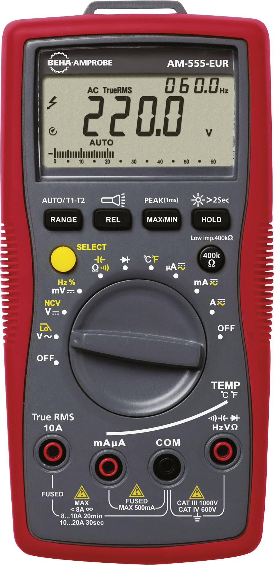Digitální multimetr Beha Amprobe AM-555-EUR