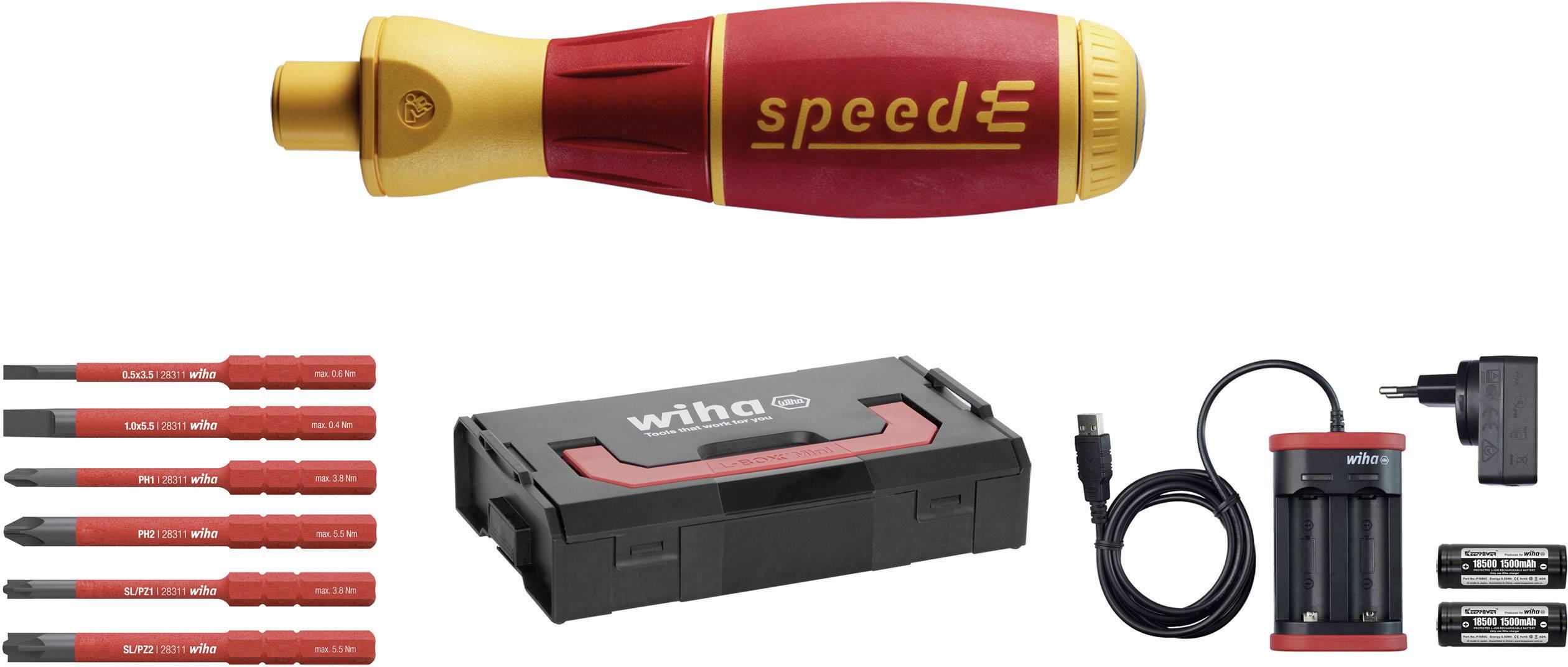 Elektrický šroubovák Wiha speedE electric Set 1 41911