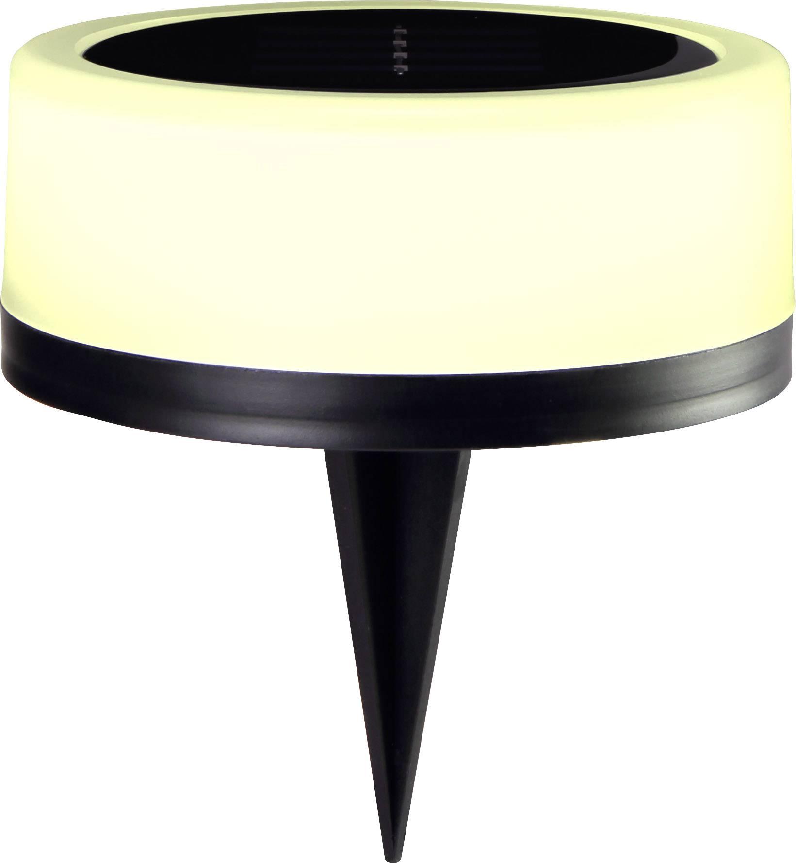LED, RGB LED solární dekorativní osvětlení Polarlite EASY 100 PL-8375080, 0.16 W, IP44, teplá bílá, RGB