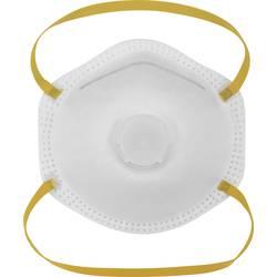 Respirátor proti jemnému prachu, s ventilom Basetech BT-1675020, 10 ks
